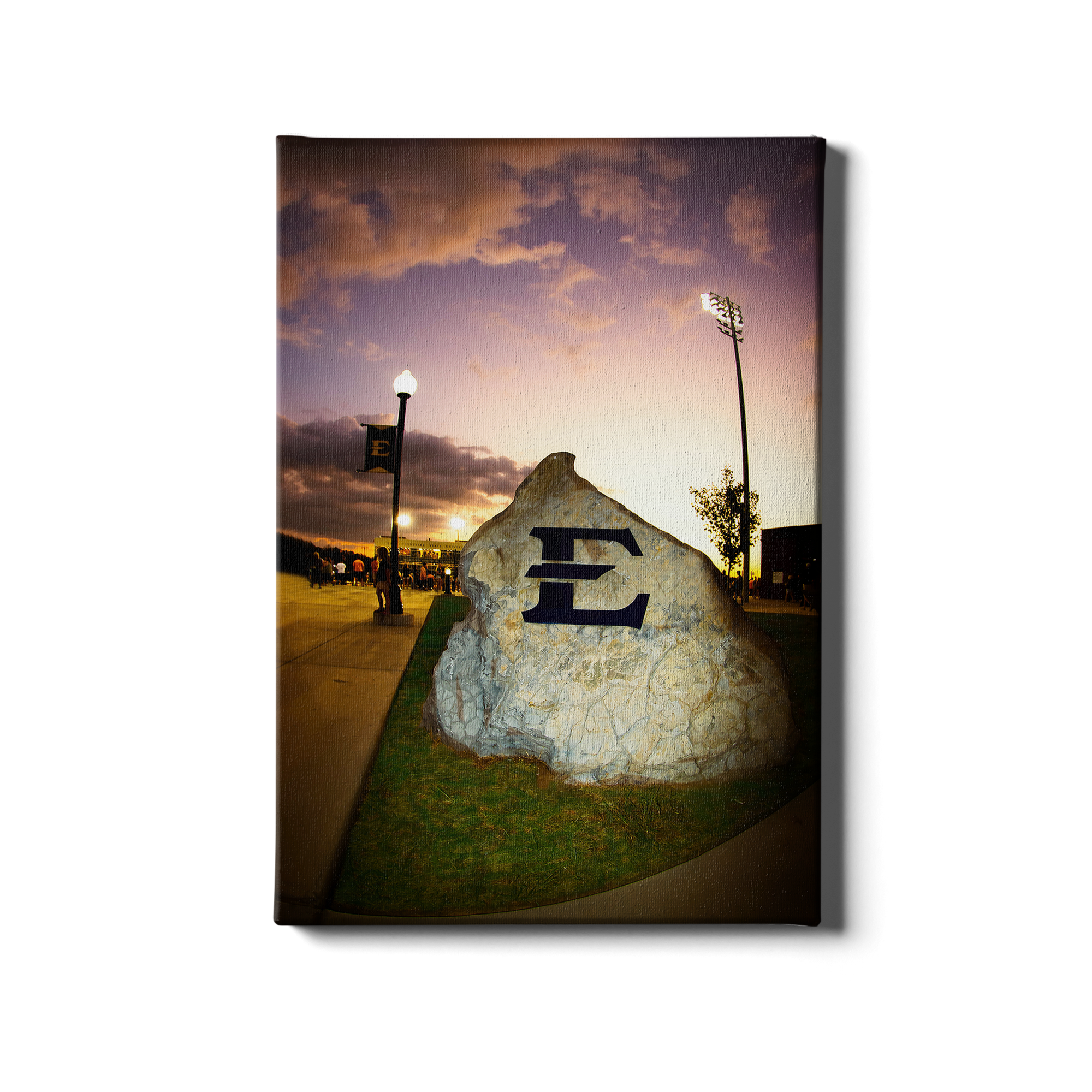 ETSU - The Rock - College Wall Art#Canvas