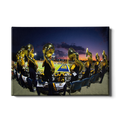 ETSU - Trombone Sunset - College Wall Art#Canvas