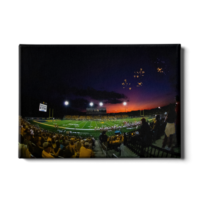 ETSU - Sunset Touchdown - College Wall Art#Canvas
