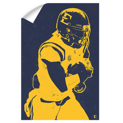 ETSU - Blue & Gold Bucs - College Wall Art#Wall Decal