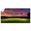 ETSU - Soccer Sunset Panoramic - College Wall Art#Wall Decal