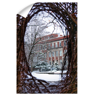 ETSU - Winter View - College Wall Art#Wall Decal