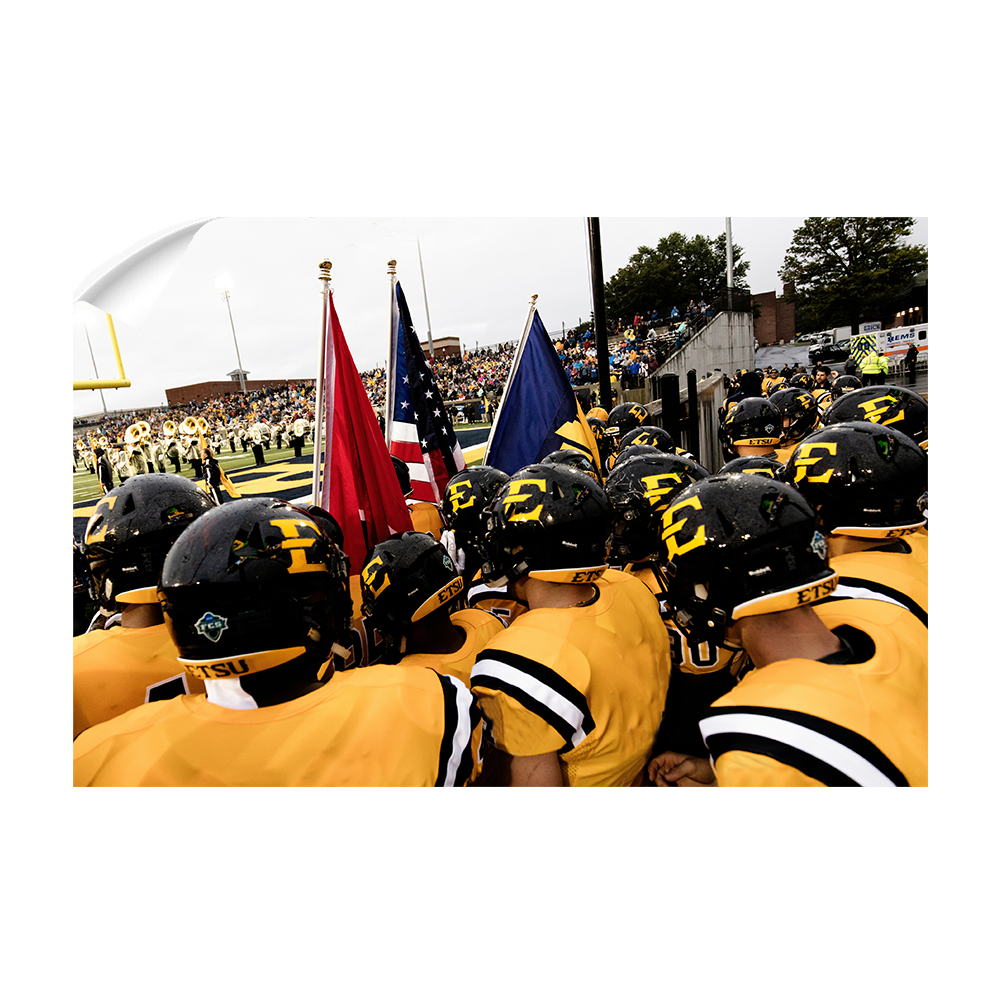 ETSU - Game Time - College Wall Art #Canvas