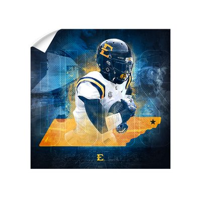ETSU - Bucs State - College Wall Art#Wall Decal