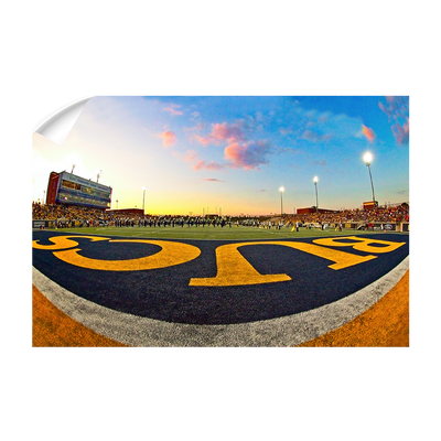 ETSU - Bucs End Zone - College Wall Art#Wall Decal