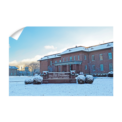ETSU - Bill Gatton College of Pharmacy Winter - College Wall Art #Wall Decal