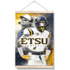 ETSU - Bucs - College Wall Art#Hanging Canvas