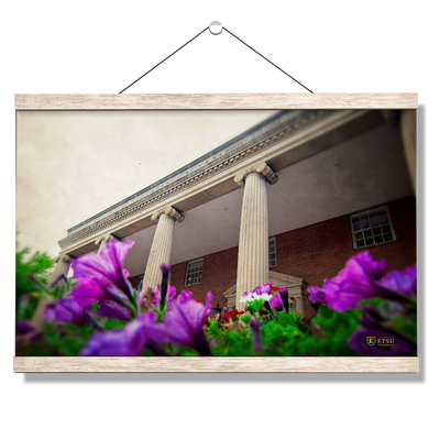ETSU - Burgin Dossett Petunias - College Wall Art#Hanging Canvas