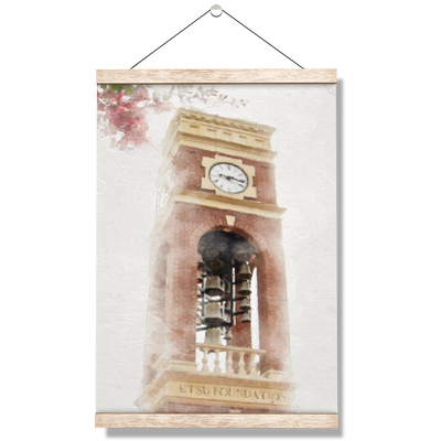 ETSU - Carillon Fog - College Wall Art#Hanging Canvas