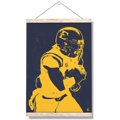 ETSU - Blue & Gold Bucs - College Wall Art#Hanging Canvas