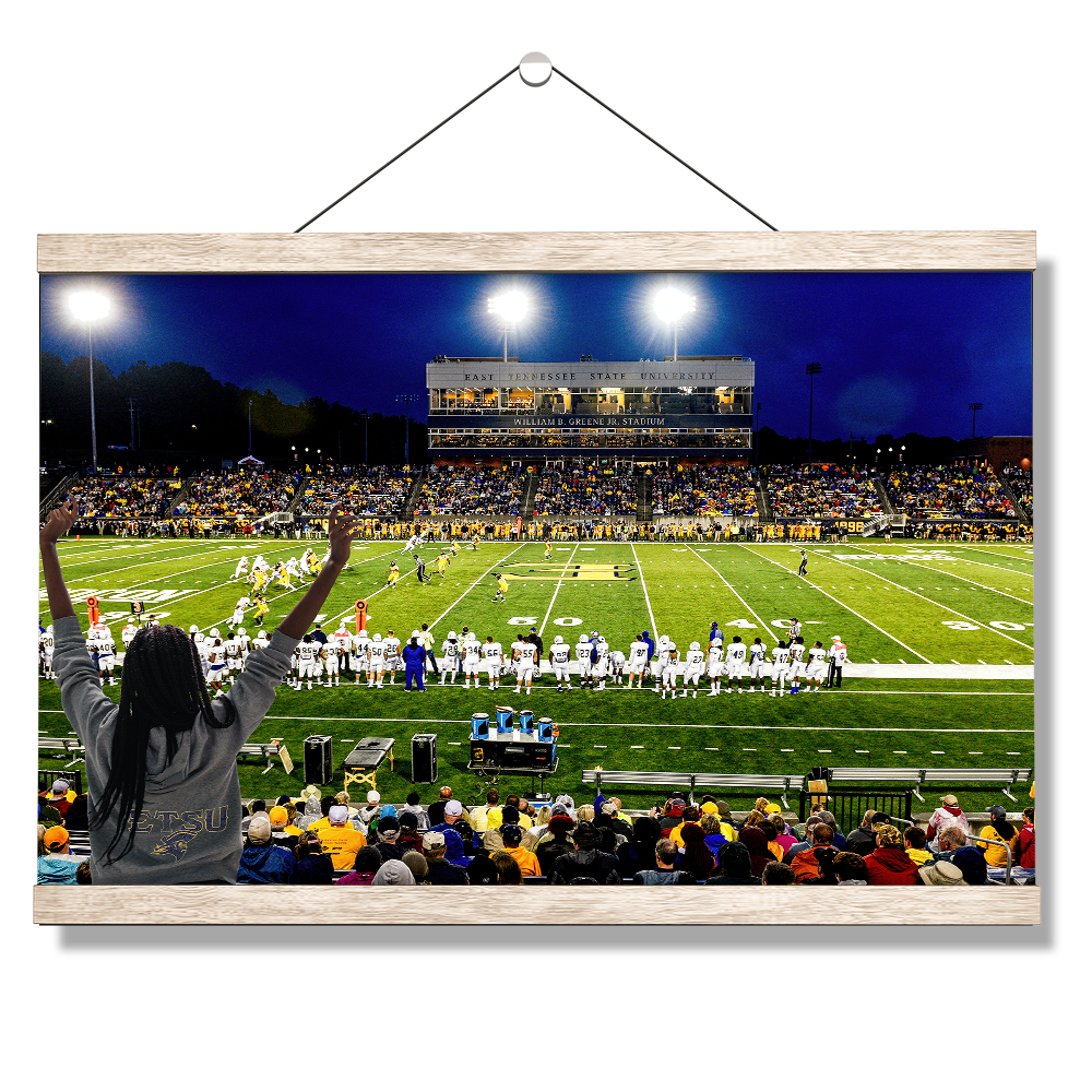 ETSU - Grand Play - College Wall Art#Canvas
