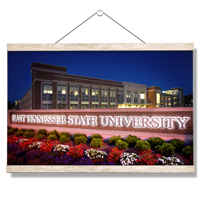 ETSU - East Tennessee State University - College Wall Art#Hanging Canvas