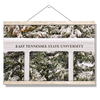 ETSU - East Tennessee Snow - College Wall Art#Hanging Canvas