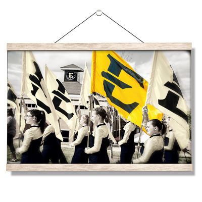 ETSU - Color Guard - College Wall Art#Hanging Canvas