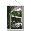 ETSU - Snowy Amphitheater - College Wall Art#Hanging Canvas