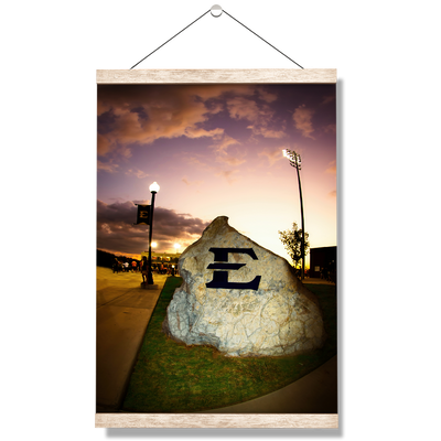 ETSU - The Rock - College Wall Art#Hanging Canvas