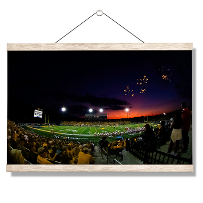 ETSU - Sunset Touchdown - College Wall Art#Hanging Canvas