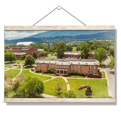 ETSU - Bill Gratton School of Pharmacy Aerial - College Wall Art #Hanging Canvas