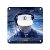 ETSU - Head Football Coach Randy Sanders - College Wall Art#Metal
