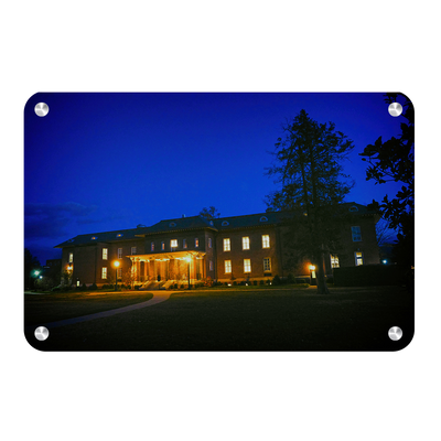 ETSU - Bill Gatton School of Pharmacy Night - College Wall Art #Metal