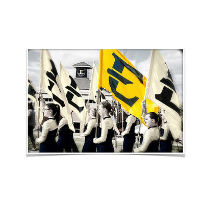 ETSU - Color Guard - College Wall Art #Poster