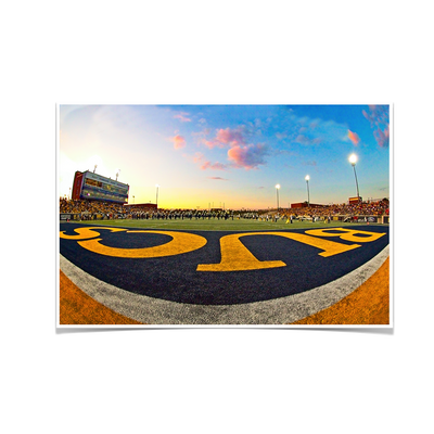 ETSU - Bucs End Zone - College Wall Art#Poster