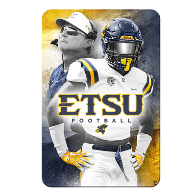 ETSU - Bucs - College Wall Art#PVC