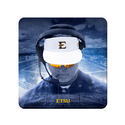 ETSU - Head Football Coach Randy Sanders - College Wall Art#PVC