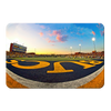 ETSU - Bucs End Zone - College Wall Art#PVC