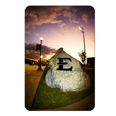 ETSU - The Rock - College Wall Art#PVC