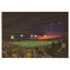 ETSU - Sunset Touchdown - College Wall Art#Wood