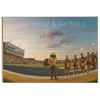 ETSU - Bucs End Zone - College Wall Art#Wood