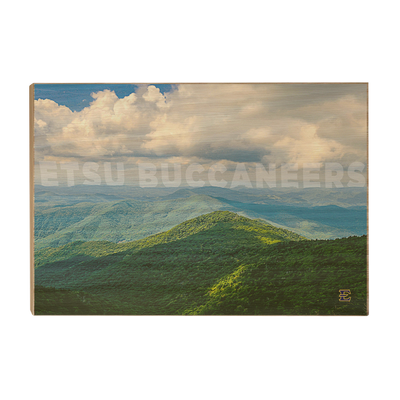 ETSU - ETSU Smokeys - College Wall Art #Wood