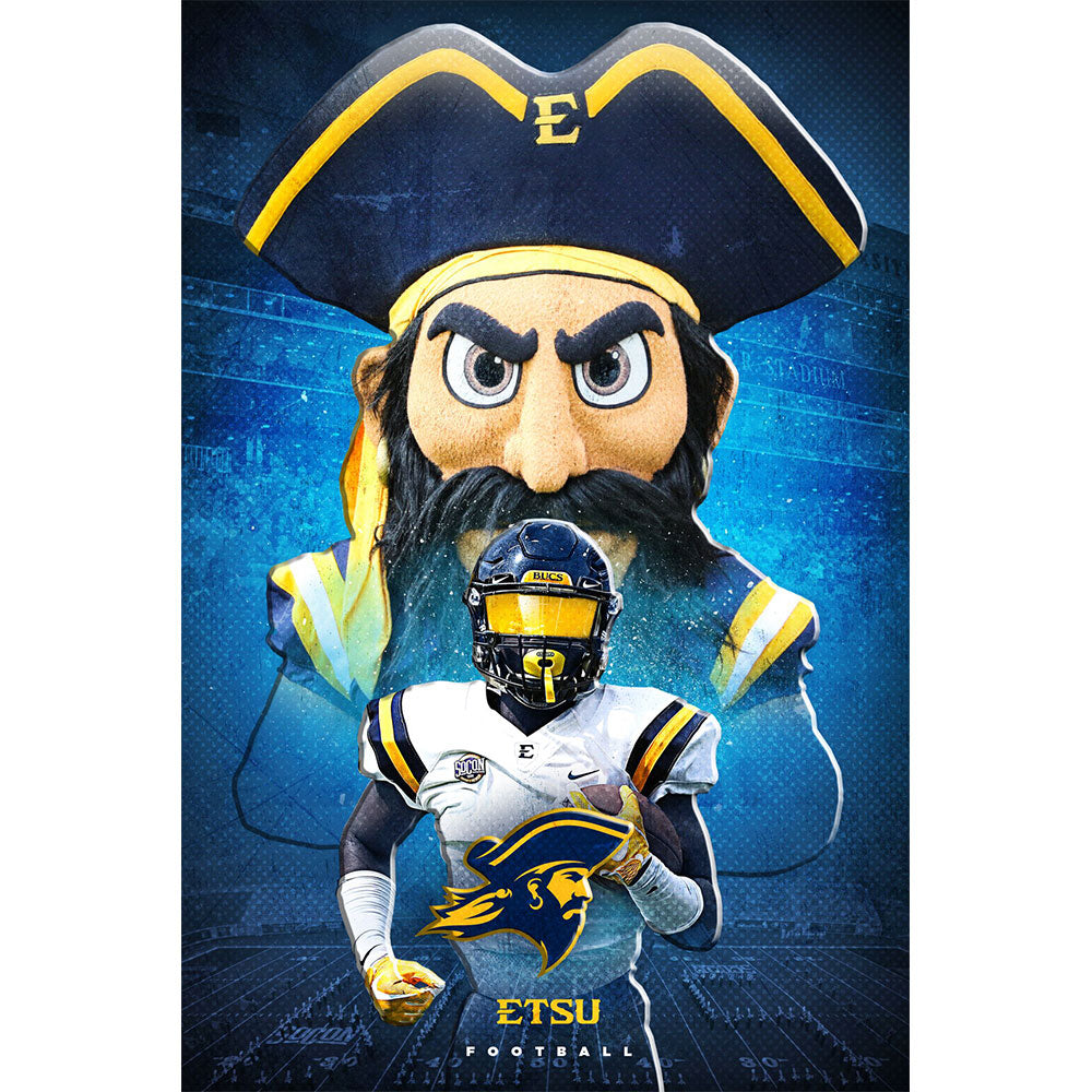 ETSU - This is ETSU Football Dimensional - College Wall Art#Dimensional