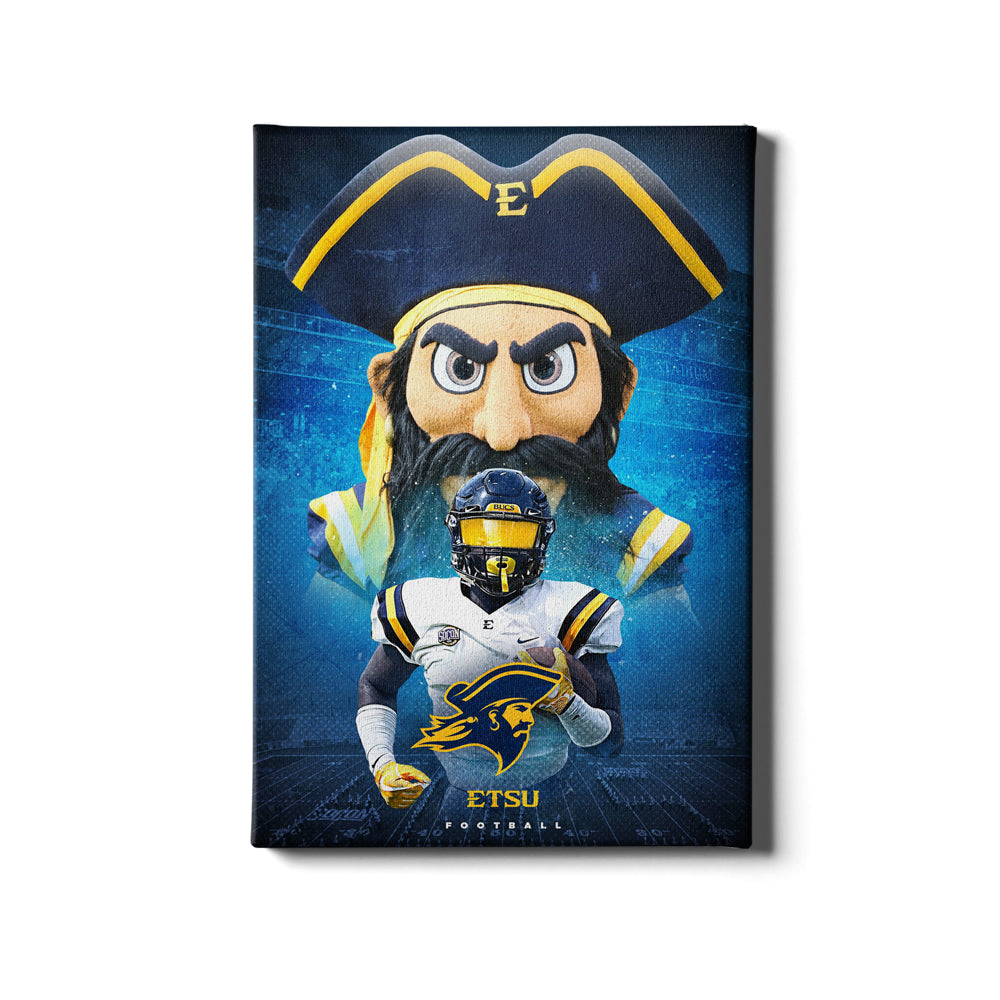 ETSU - This is ETSU Football - College Wall Art#Canvas