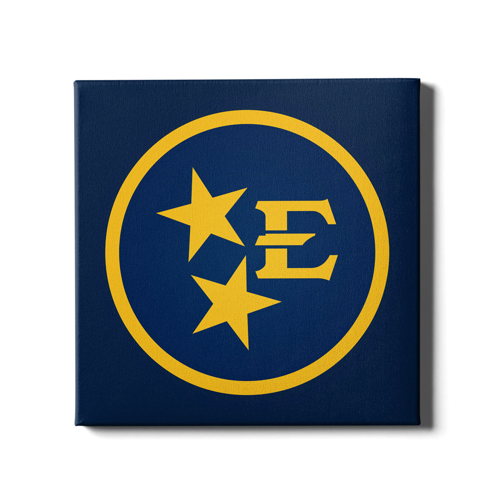 ETSU - Tri Star Bucs - College Wall Art#Canvas