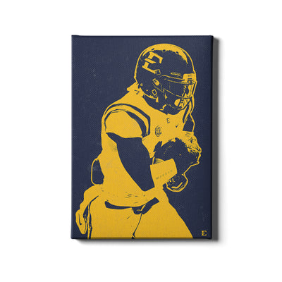 ETSU - Blue & Gold Bucs - College Wall Art#Canvas