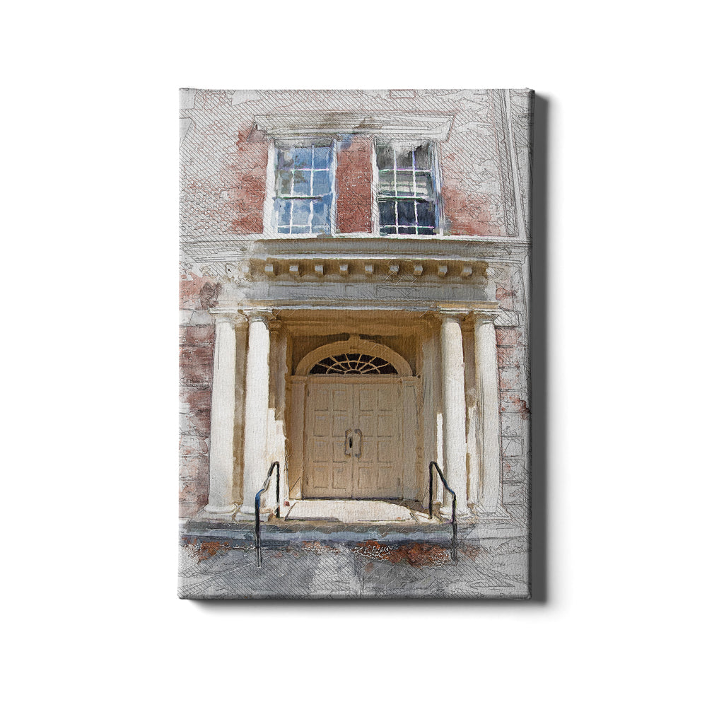 ETSU - The Door Sketch - College Wall Art#Canvas