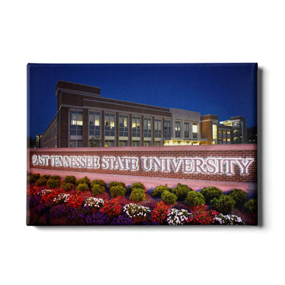 ETSU - East Tennessee State University - College Wall Art#Canvas