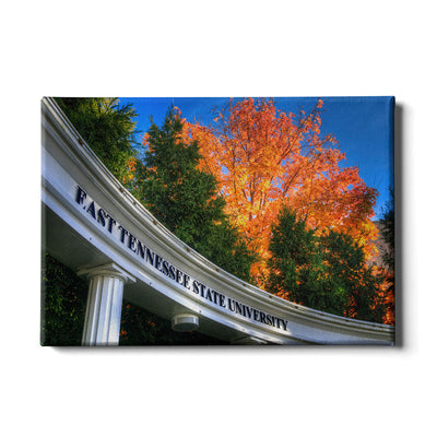 ETSU - Autumn Blaze - College Wall Art#Canvas