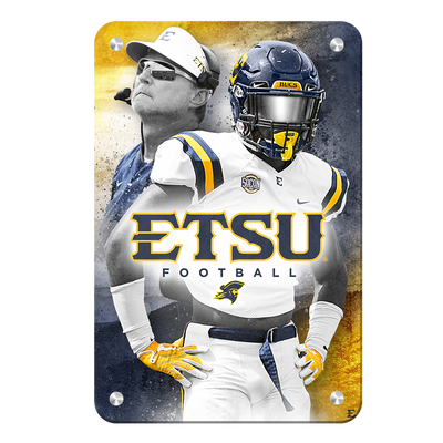 ETSU - Bucs - College Wall Art#Metal