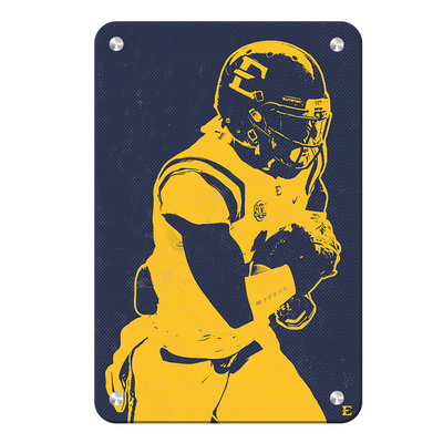 ETSU - Blue & Gold Bucs - College Wall Art#Metal