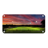 ETSU - Soccer Sunset Panoramic - College Wall Art#Metal