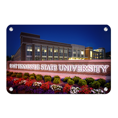 ETSU - East Tennessee State University - College Wall Art#Metal