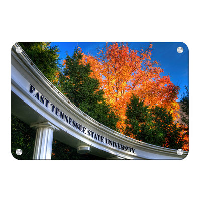 ETSU - Autumn Blaze - College Wall Art#Metal