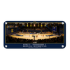 ETSU - Volleyball Home Opener Panoramic - College Wall Art#Metal