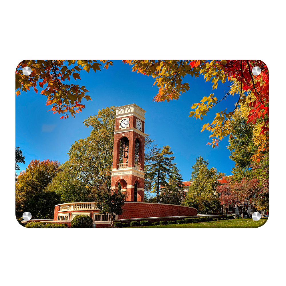 ETSU - Autumn Alumni Plaza - College Wall Art#Canvas