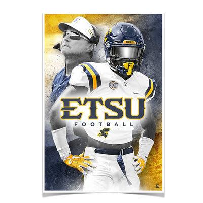 ETSU - Bucs - College Wall Art#Poster