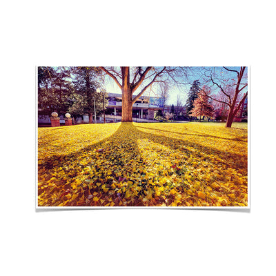 ETSU - Autumn Day - College Wall Art#Poster