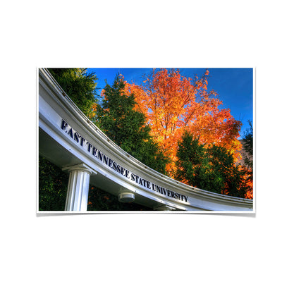 ETSU - Autumn Blaze - College Wall Art#Poster